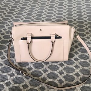 Kate Spade Tan Nude Large purse